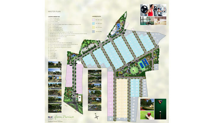 NCC Green Province - Layout Plan