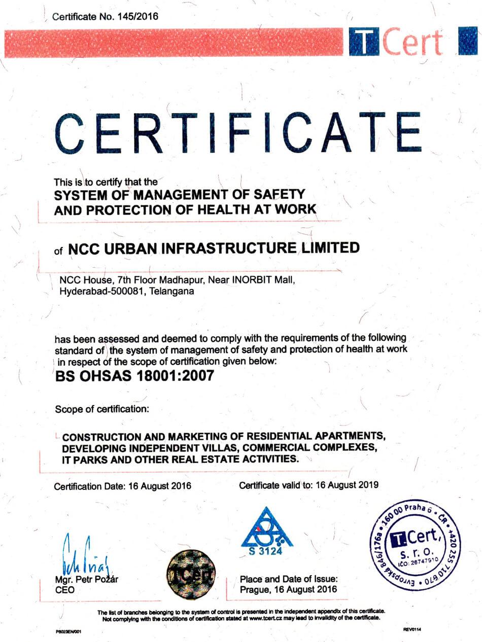 certificates ncc